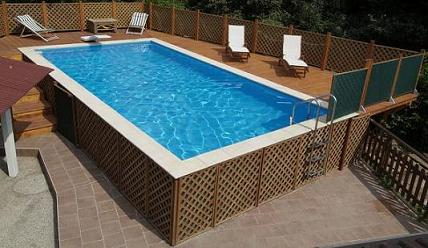 Awesome piscine laghetto prezzi contemporary - Piscine esterne rigide ...
